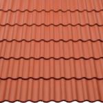 Deckfläche Harzer Pfanne Big Klassisch Rot
