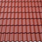 Deckfläche Harzer Pfanne Tiefrot