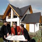 Hausherren Schieferdach Haus