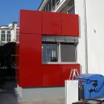 Aluminium-Paneel-Fassade