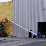 Industriefassade
