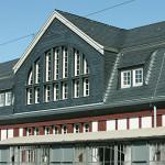 Schiefer Dach