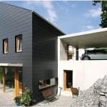 Einfamilienhaus in Freiburg mit Querdeckung