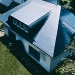 Einfamilienhaus Wolterdingen Faserzement Deckung