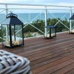neue Terrasse, Terrassenbau, Bangkirai