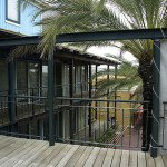 Terrasse aus Holz, Terrassenbelag, Bandkirai, Zimmerei